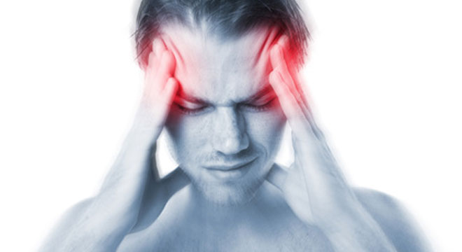 Pulsierender Kopfschmerz
