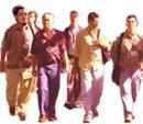 Männer Gruppe