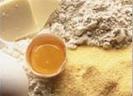 Verschiedene Allergene Mehl Eier