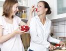 Frauen Kochen Ernährung